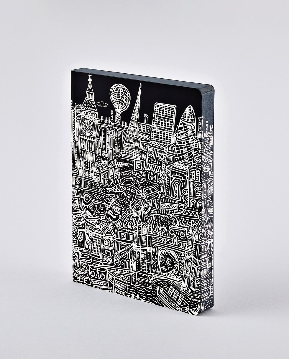 nuuna Notebook Graphic L LONDON