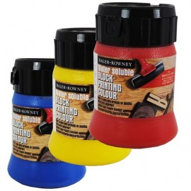 Water Soluble Block Printing Colours 250ml