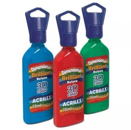 Acrilex 3D colors 35ml