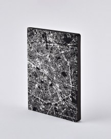 Notebook Nightflight L Light  PARIS SILVER