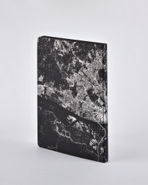 Notebook Nightflight L Light HAMBURG SILVER