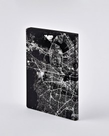 Notebook Nightflight L Light BERLIN SILVER