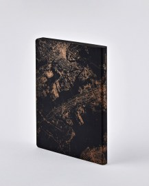 Notebook Nightflight L Light NYC COPPER