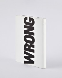 nuuna Notebook Graphic L WRITE - WRONG
