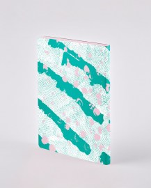 nuuna Notebook Colour Clash L Light CELEBRATION