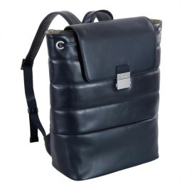 NAVA Design Passenger Leather IPad mini blue shoulder bag