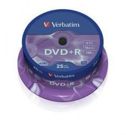 DVD+R 16X 120/4.7G Spindle